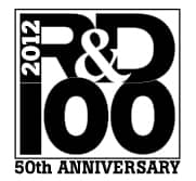 R&D 100 Award Winner 2012 logo